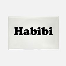 Habibi Rectangle Magnet