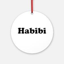 Habibi Ornament (Round)