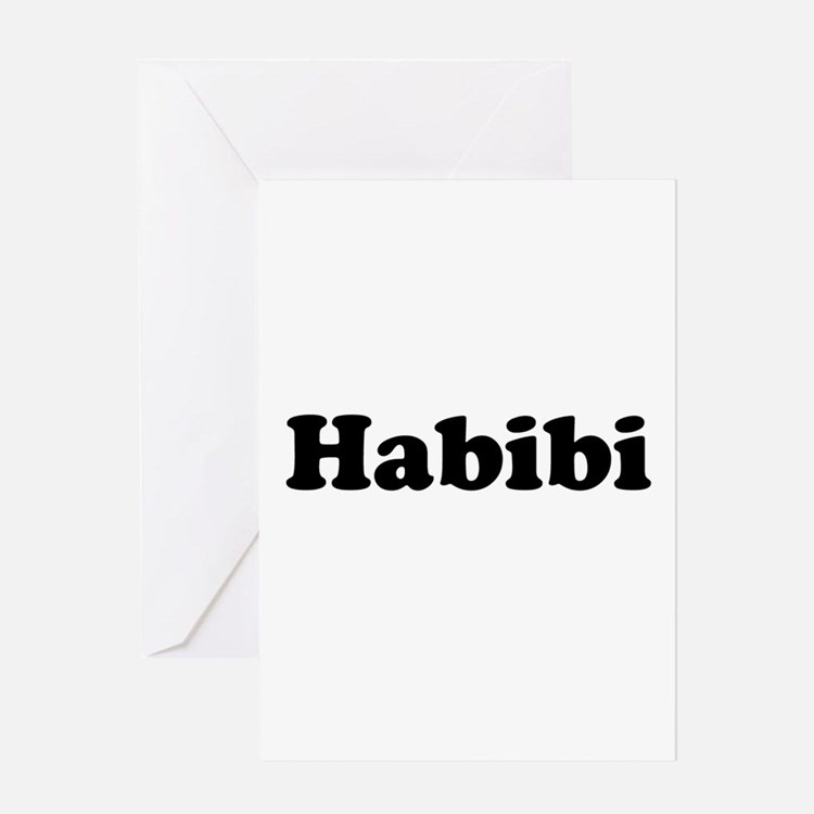 Habibi Greeting Card