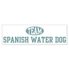 Team Spanish Water Dog Bumper Bumper Sticker