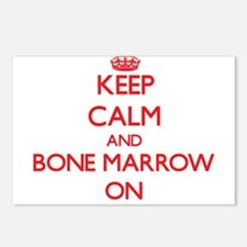 Keep Calm and Bone Marrow Postcards (Package of 8)