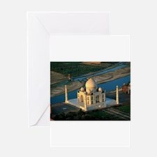 Taj Mahal Greeting Cards