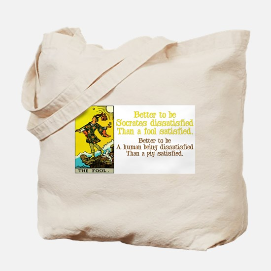 Better Dissatisfied Tote Bag