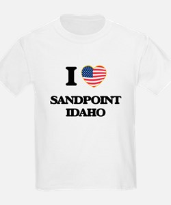 I love Sandpoint Idaho T-Shirt