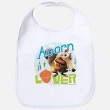 Scrat Acorn Lover Bib