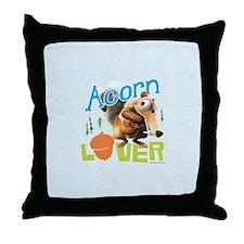 Scrat Acorn Lover Throw Pillow