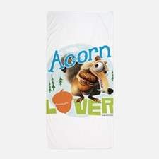 Scrat Acorn Lover Beach Towel