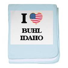 I love Buhl Idaho baby blanket