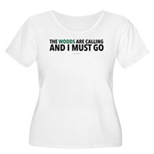Woods Are Calling Plus Size T-Shirt