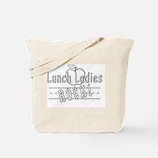 Lunch Ladies Rock Tote Bag