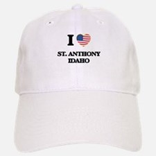 I love St. Anthony Idaho Baseball Baseball Cap