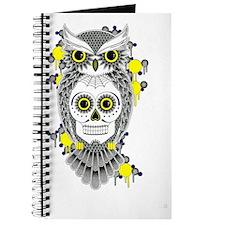 Sugar Skull Owl Journal