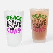 Love Cows Drinking Glass