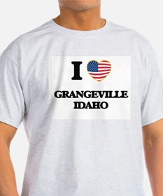 I love Grangeville Idaho T-Shirt