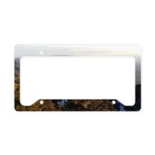 Cute Mountain License Plate Holder