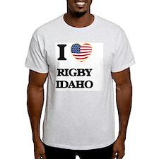 I love Rigby Idaho T-Shirt
