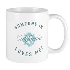 Someone In California Mugs