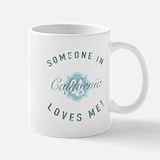Someone In California Mugs
