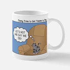 Timmy Goes Outside Mug