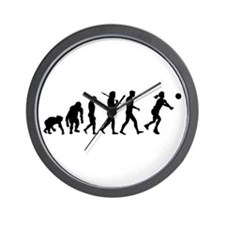 Evolution Of Volleyball Wall Clock
