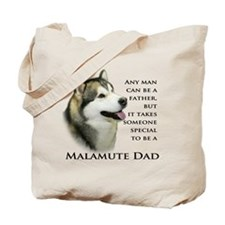 Malamute Dad Tote Bag