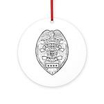 Cooldige Arizona Police Ornament (Round)