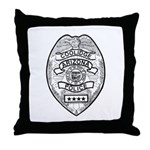 Cooldige Arizona Police Throw Pillow