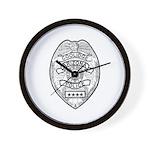 Cooldige Arizona Police Wall Clock