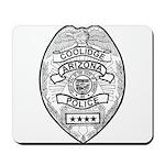 Cooldige Arizona Police Mousepad