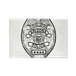 Cooldige Arizona Polic Rectangle Magnet (100 pack)