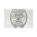 Cooldige Arizona Police Rectangle Magnet
