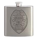 Cooldige Arizona Police Flask