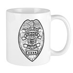Cooldige Arizona Police Mug