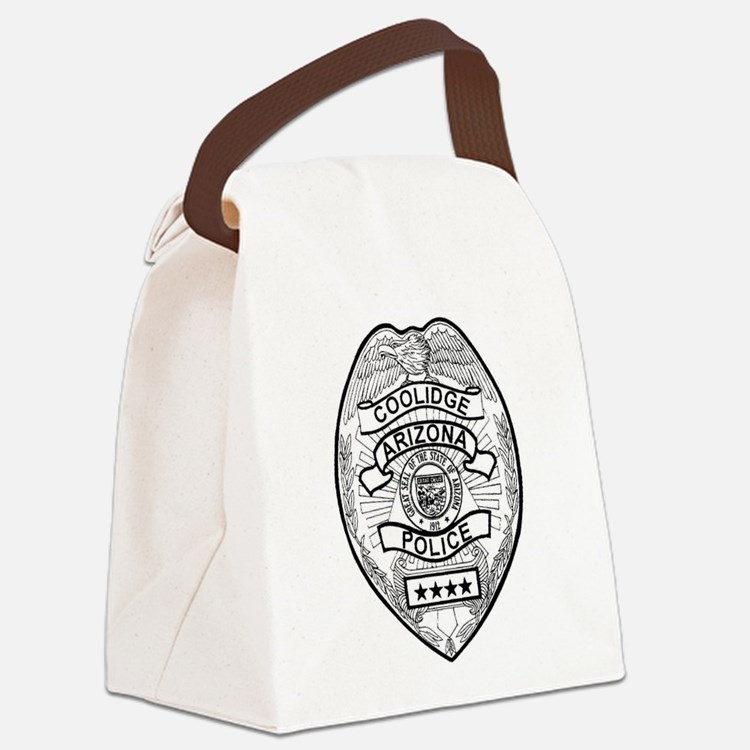 Cooldige Arizona Police Canvas Lunch Bag