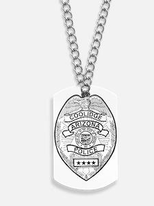 Cooldige Arizona Police Dog Tags