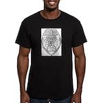 Cooldige Arizona Polic Men's Fitted T-Shirt (dark)