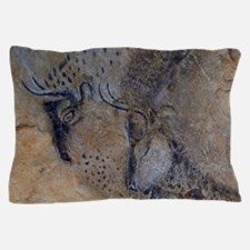 french pyrenees cave paintings Pillow Case