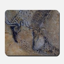 french pyrenees cave paintings Mousepad
