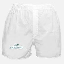 Team Siberian Husky Boxer Shorts