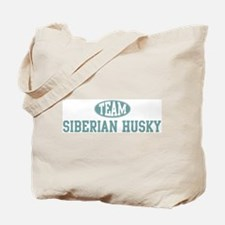 Team Siberian Husky Tote Bag