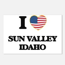 I love Sun Valley Idaho Postcards (Package of 8)