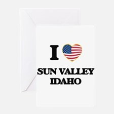 I love Sun Valley Idaho Greeting Cards