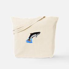 King Salmon Tote Bag