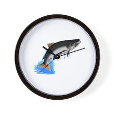 King Salmon Wall Clock