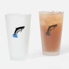 King Salmon Drinking Glass