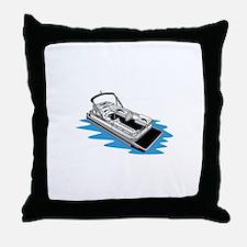 Pontoon Throw Pillow