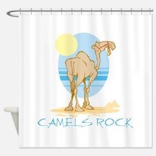 Camels Rock Shower Curtain