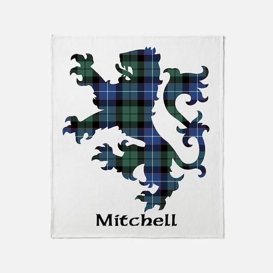 Lion-Mitchell Throw Blanket