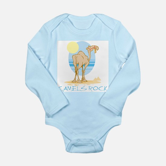 Camels Rock Long Sleeve Infant Bodysuit