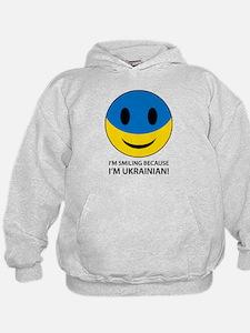 I'm Smiling Because I'm Ukrainian Hoodie